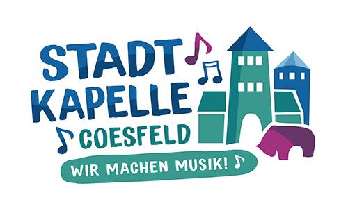 ReDesign / Gestaltung des Logos für die Stadtkapelle Coesfeld durch SATZDRUCK
