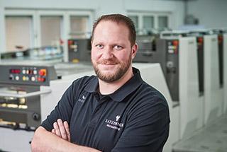 Michael Höing – Industriemeister Druck und Geschäftsführer bei Satzdruck in Coesfeld