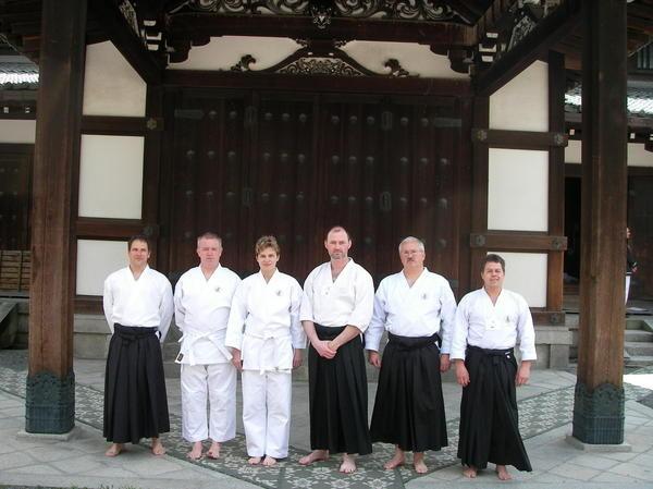 Das Deutsche Team bei 3 Wold Butoku Sai in Kyoto/Japan