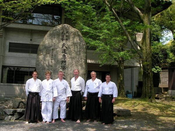 """An diesen historischen Stätten trainieren zu dürfen,gemeinsam mit Kampfkunst """"Legenden"""" zählt zweifellos zu den Highlights in meinem Budoleben."""