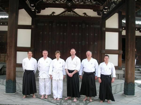 Überprüfung im ältesten Dojo von Kyoto Japan vor den Augen des Prinzen und den höchsten Samurai