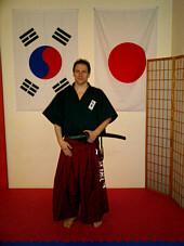 Kyosah -Nim Martin Mittermeier.  4.Dan Taekwondo.