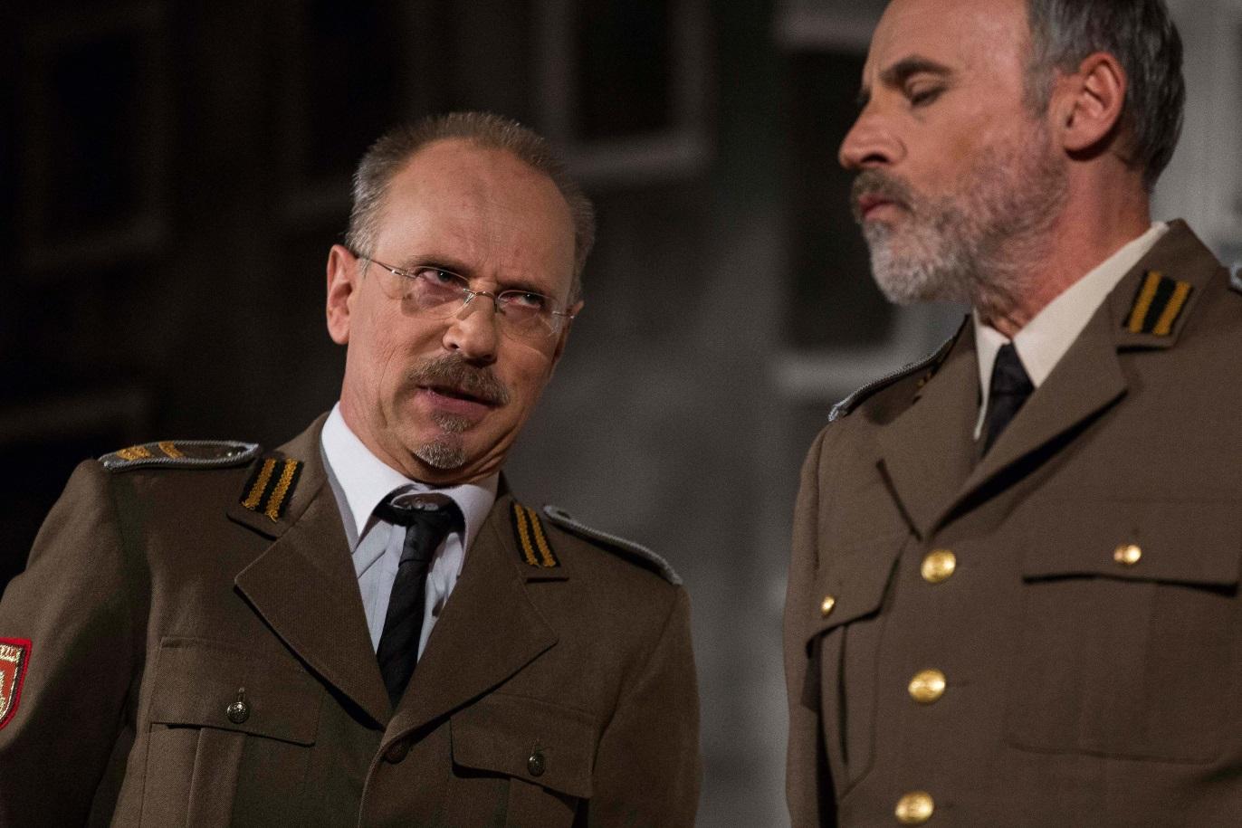 Valerio Milan (procuratore) e Ezio Baldo (giudice)