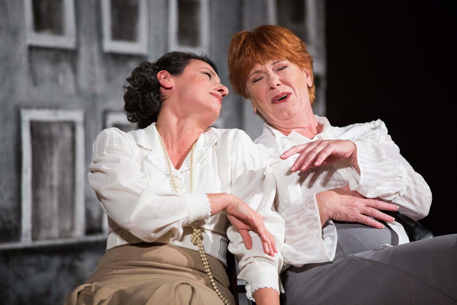 Federica Domestici (Marguerite) e Giuliana Mattiazzi (Maria)