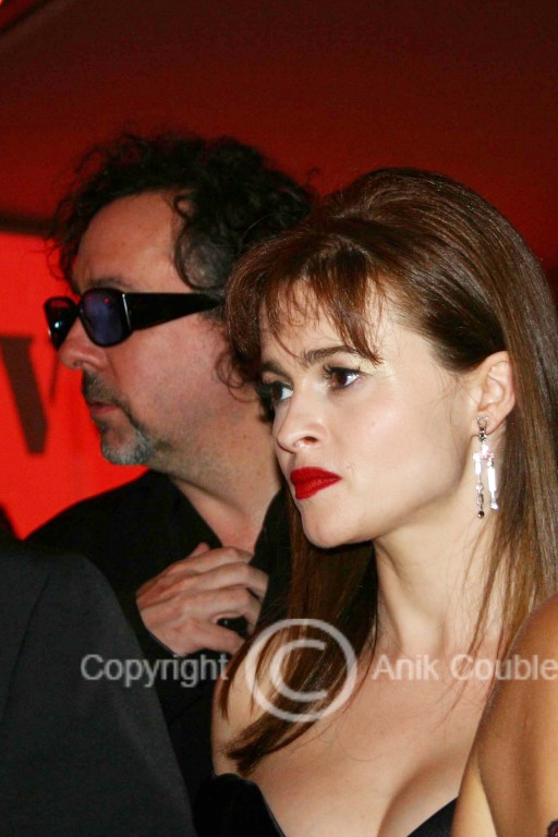 Tim Burton et Helena Bonham Carter 2006 / Photo : Anik Couble