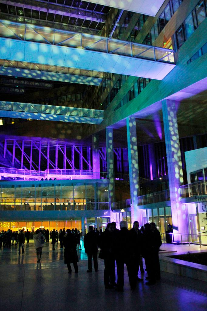 L'Atrium, du siège de la Région Rhône-Alpes - Lyon  © Anik COUBLE
