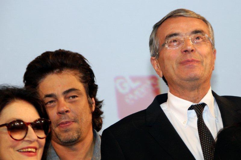 Anouk AIME, Benicio DEL TORO et Jean-Jack QUEYRANNE,  © Anik COUBLE