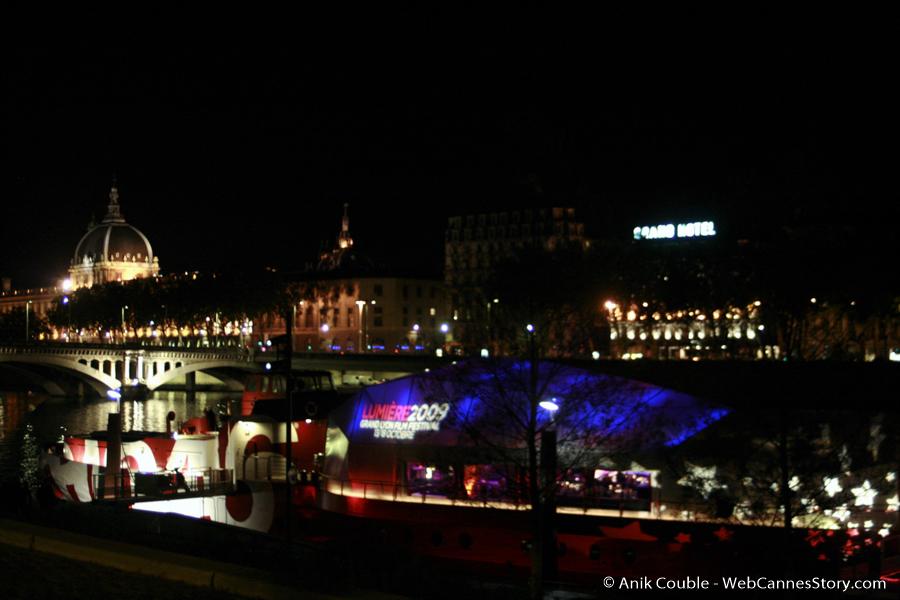 à la Plateforme - Festival Lumière 2009 - Lyon - Photo © Anik Couble