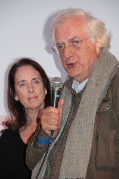 Julie  Corman et Bertand Tavernier - Festival Lumière 2011 - Lyon - Photo © Anik Couble