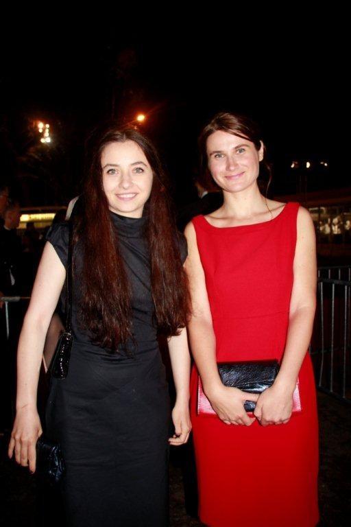 Cosmina STRATAN et Cristina FLUTUR, Prix d'interprétation féminine - Festival de Cannes 2012 - Photo © Anik Couble