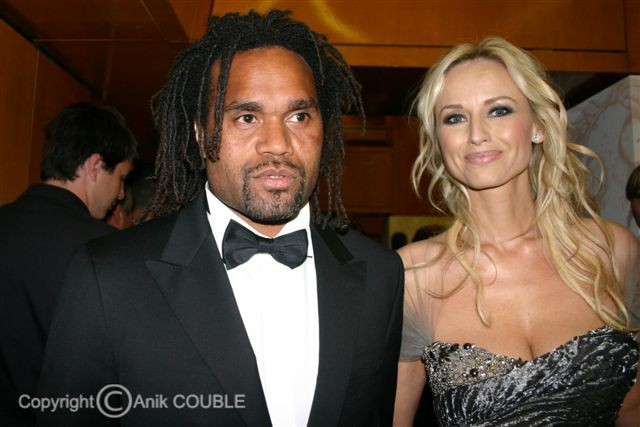 Adriana et Christian Karembeu - Festival de Cannes 2010 © Anik COUBLE
