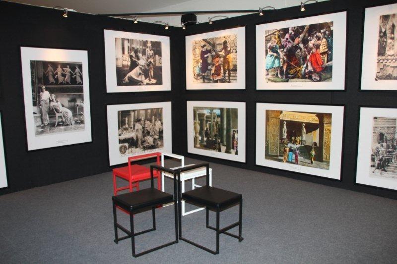 Exposition de photos  appartenant à  la Cinémathèque de Milan / Photo : Anik Couble