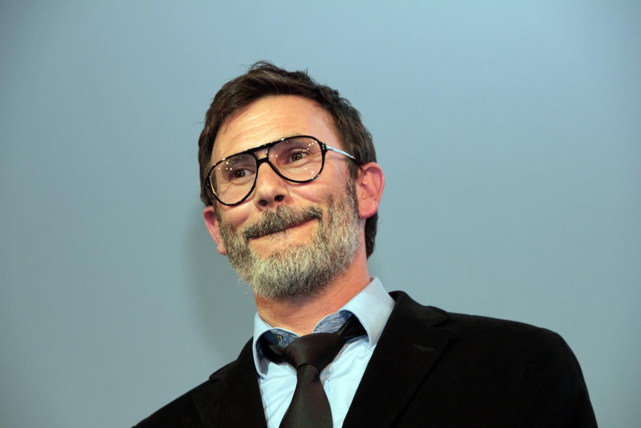 """Michel Hazanavicius, réalisateur du film """"The Artist"""" - Festival Lumière 2011 - Lyon - Photo © Anik COUBLE"""