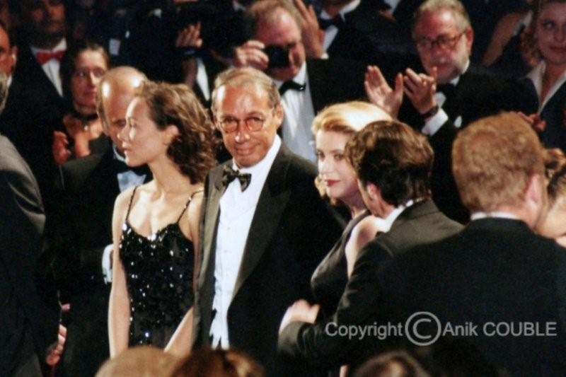 "Projection de ""Les voleurs"" de André Techiné - Festival de Cannes 1996 - Photo © Anik COUBLE"