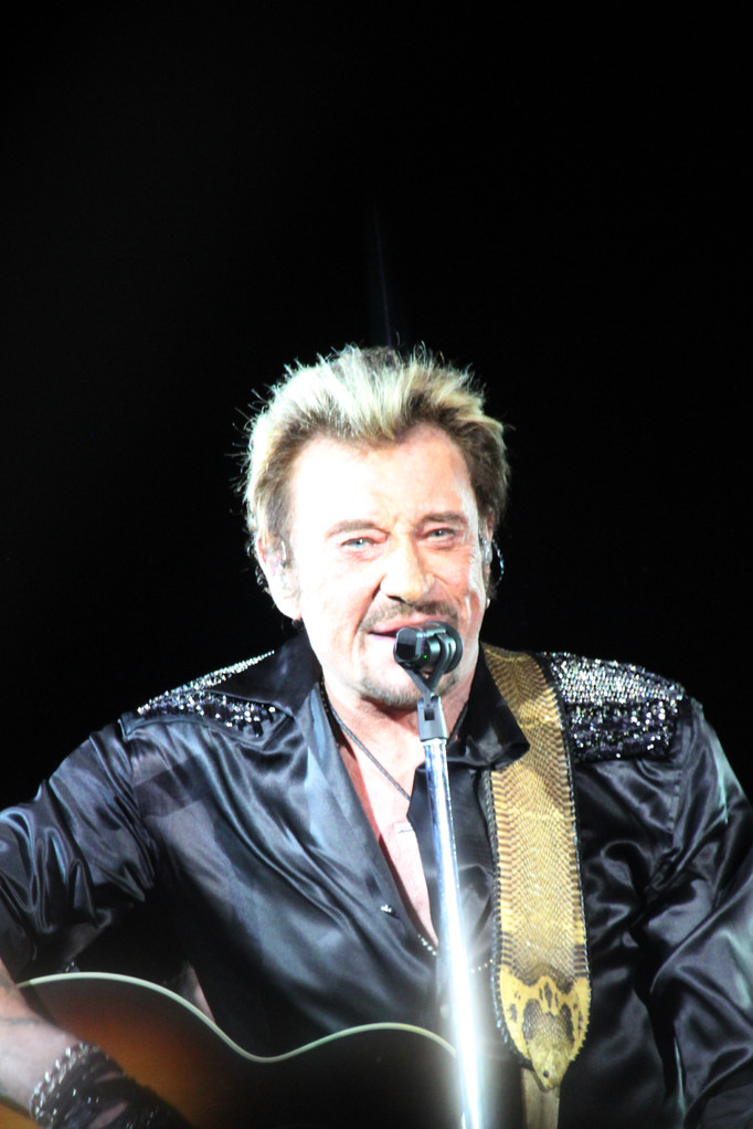 Johnny Hallyday - Lyon - Juin 2012 © Anik COUBLE