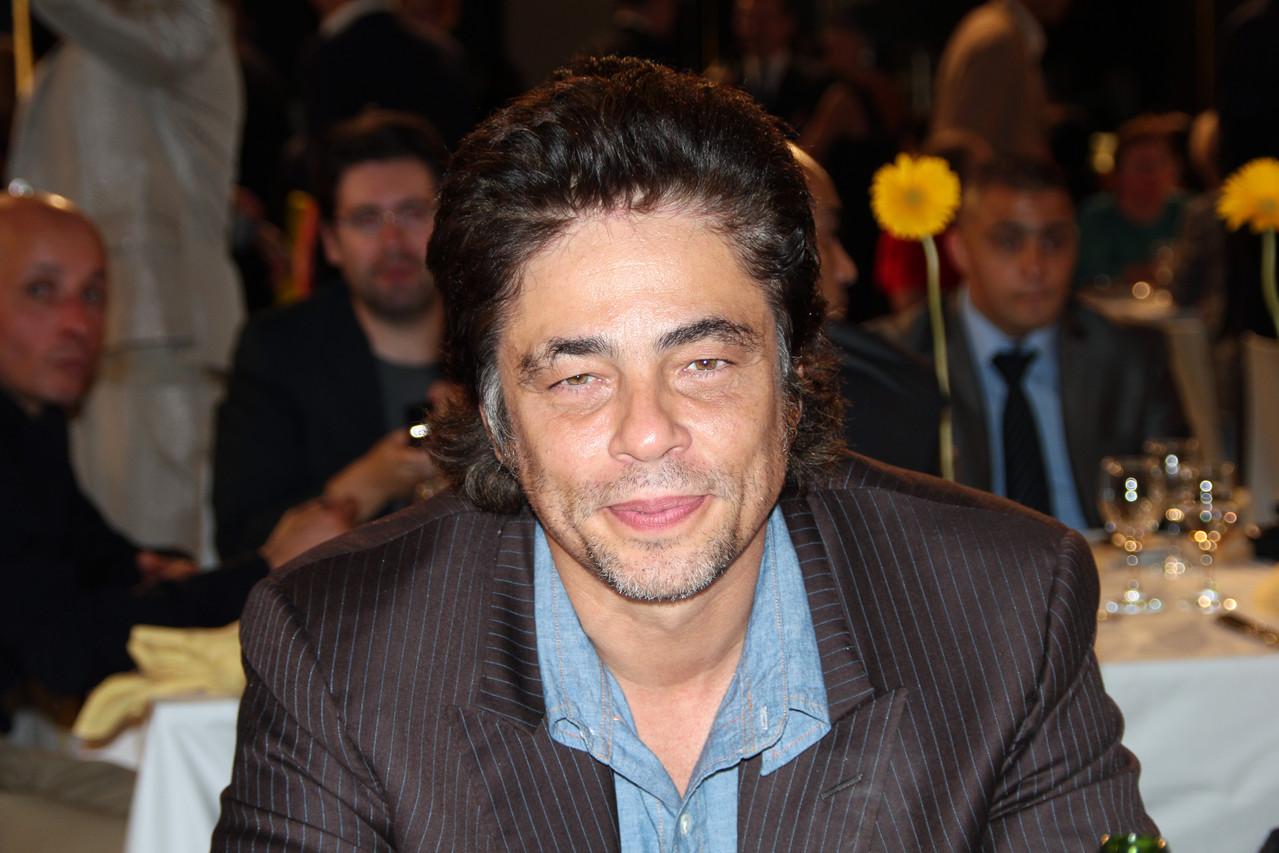 Benicio Del Toro - Festival Lumière 2011 - Lyon - Photo © Anik COUBLE