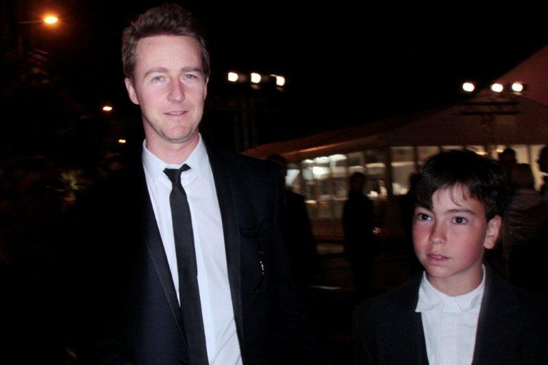 Alan Badaoui-Couble et Edward Norton - Festival de Cannes 2012 © Anik COUBLE
