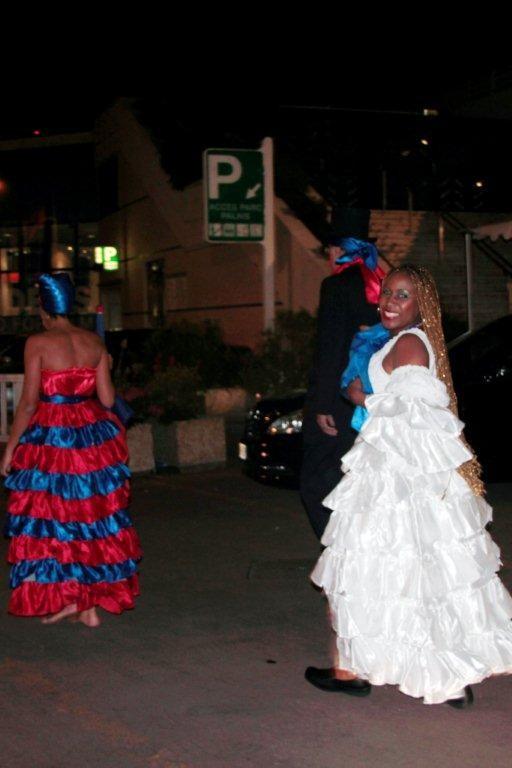 Les danseuses du carnaval haïtien  - Photo © Anik Couble