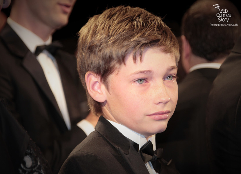 "Jacob Lofland, lors de la projection du film ""Mud"" de Jeff Nichols - Festival de Cannes 2012 - Photo  © Anik Couble"