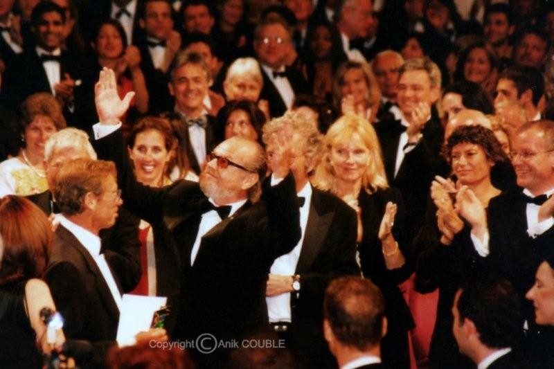 "Projection de ""Monsieur Schmidt"" de Alexander Payne - Festival de Cannes 2001 - Photo © Anik COUBLE"