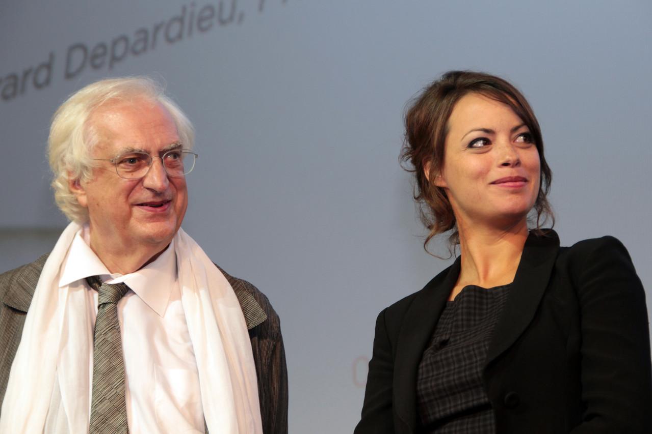Bertrand Tavernier et Bérénice Bejo - Festival Lumière 2011 - Lyon - Photo © Anik COUBLE