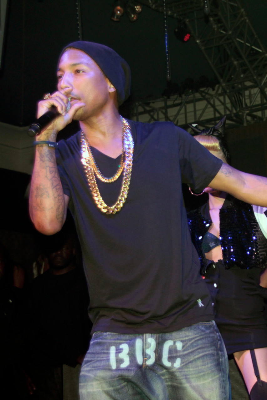 Pharrell Williams, au Gotha Club - Festival de Cannes 2012 - Photo © Anik Couble