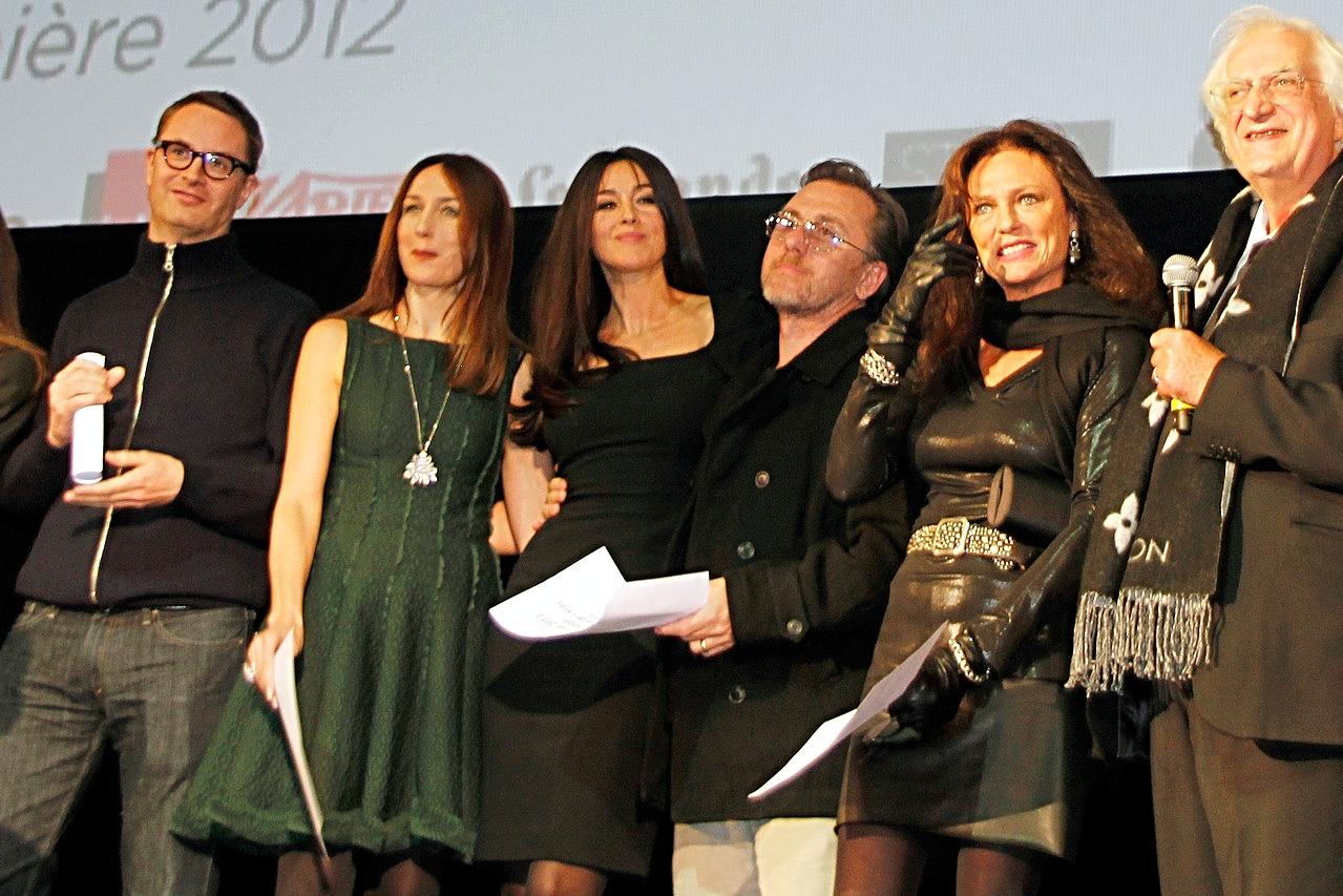 Nicolas Winding Refn, Elsa Zylberstein, Monica Bellucci, Tim Roth, Jacqueline Bisset et Bertand Tavernier - Festival Lumière 2012 - Lyon - Photo © Anik COUBLE
