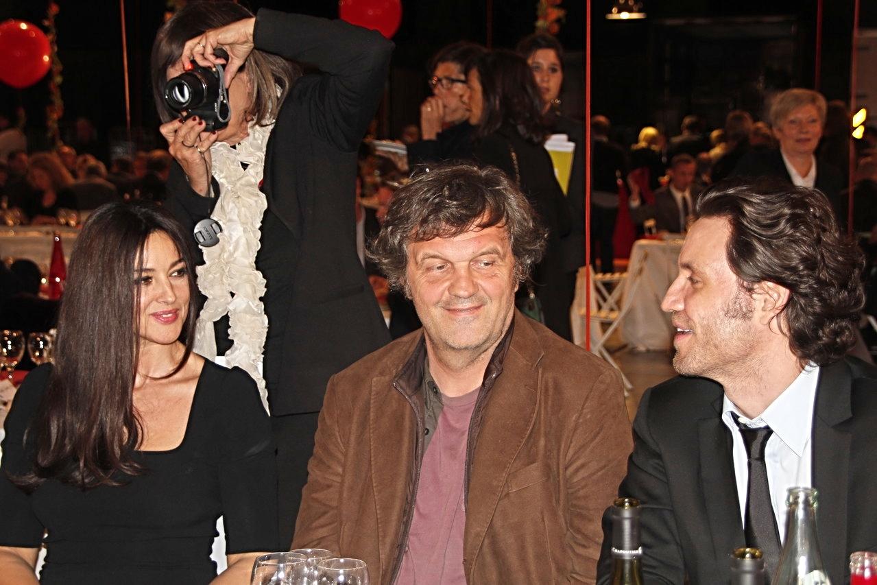 Monica Bellucci, Emir Kusturica et Edgar Ramirez - Festival Lumière 2012 - Lyon - Photo © Anik COUBLE