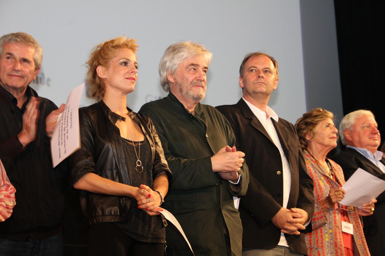 Claude Lelouch et Audrey Dana - Festival Lumière 2011 - Lyon - Photo © Anik COUBLE