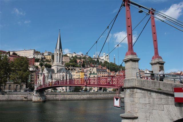 Passerelle St Georges - Lyon - Photo © Anik COUBLE