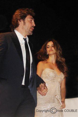 Javier Bardem et Penelope Cruz - Festival de Cannes 2010 © Anik COUBLE