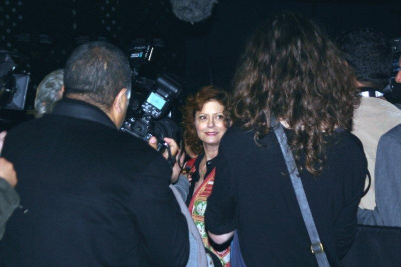 Susan Sarandon en interview  - Festival de Marrakech 2010 © Anik COUBLE