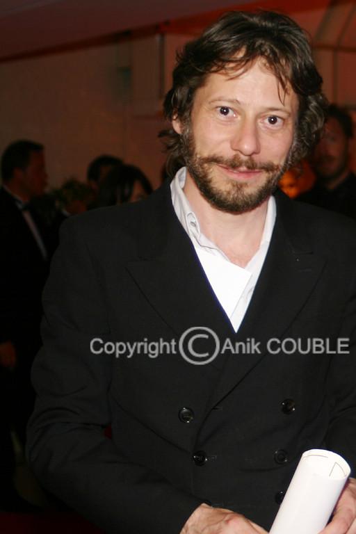 Mathieu Amalric - Festival de Cannes 2010 © Anik COUBLE
