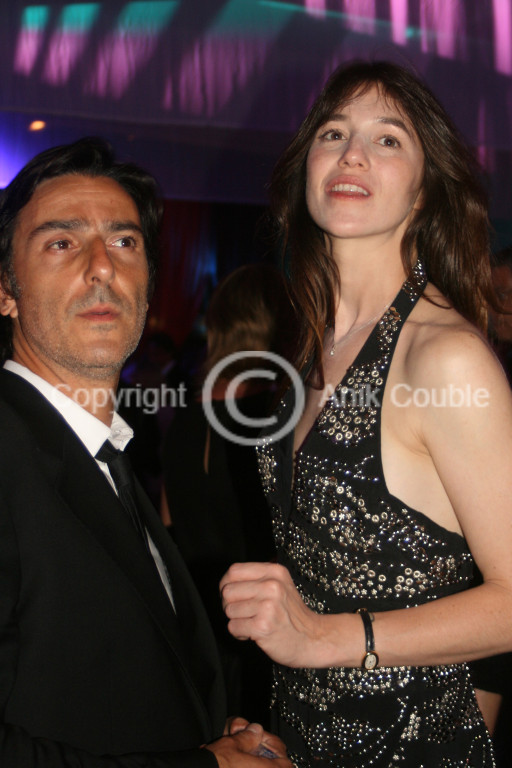 Yvan Attal et Charlotte Gainsbourg 2009 / Photo : Anik Couble