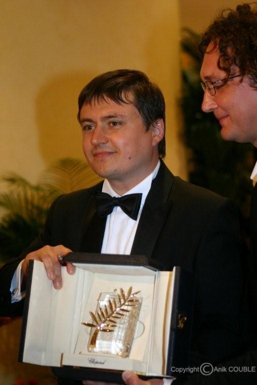 Palme d'Or pour Cristian Mangiu en 2007 / Photo : Anik Couble