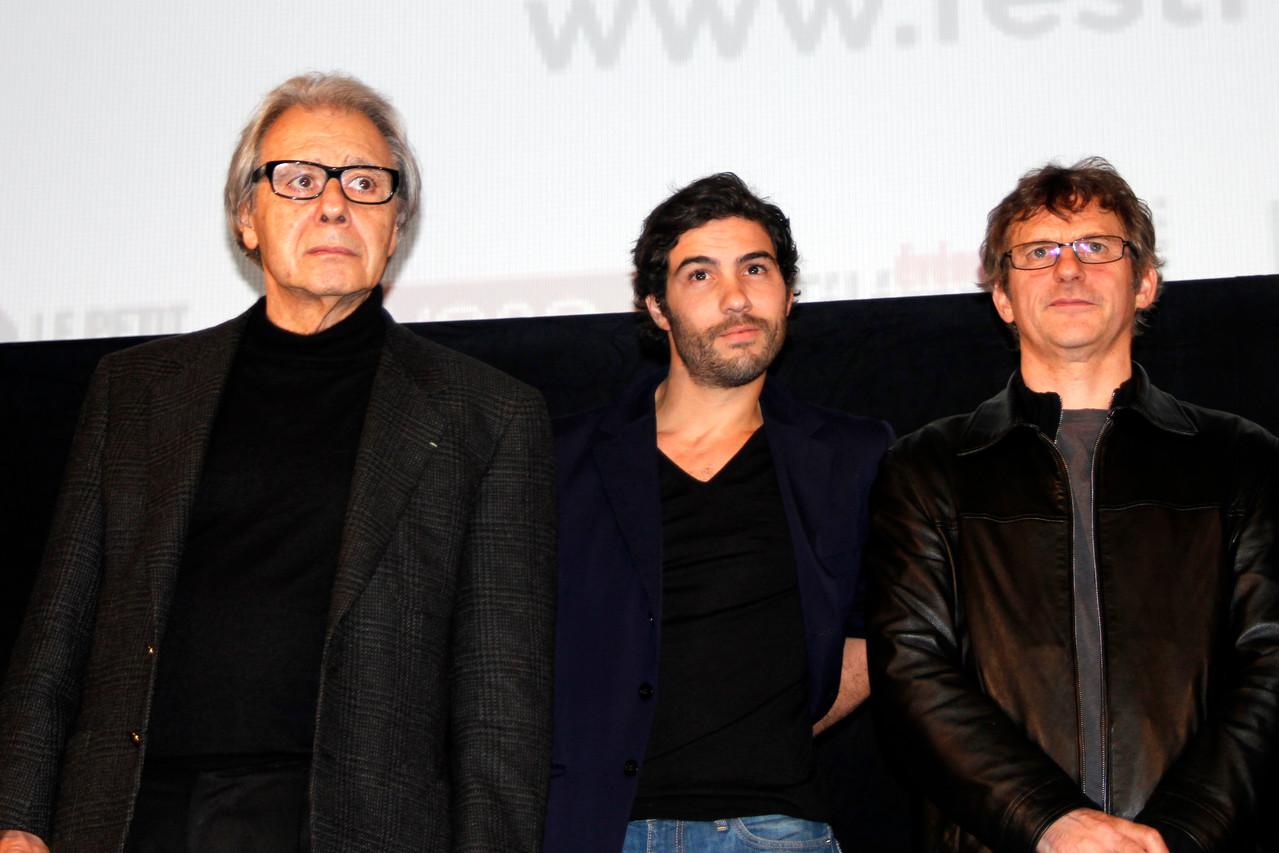 Lalo Schifrin et Tahar Rahim - Festival Lumière 2012 - Lyon - Photo © Anik COUBLE