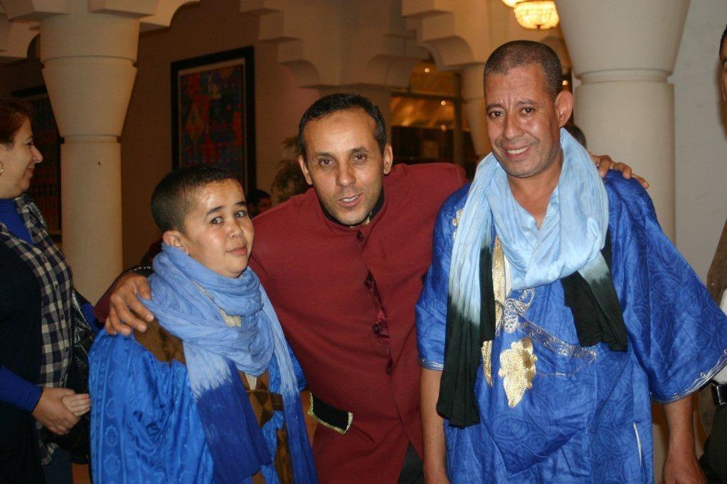 """Les acteurs de la célèbre serie télévisée """"Hdidane"""" - Festival de Marrakech 2010 © Anik COUBLE"""