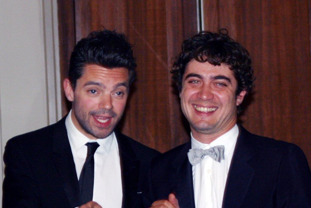 Riccardo Scamarcio et Dominic Cooper,  membres du Jury - Festival de Marrakech 2010 © Anik COUBLE