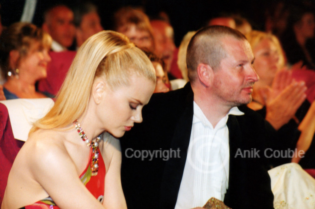 Nicole Kidman et Lars Von Trier 2003 / Photo : Anik Couble