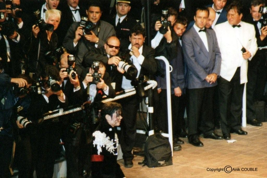 Michael Jackson 1997   / Photo : Anik Couble
