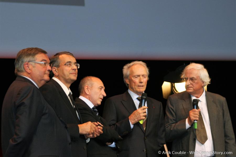 Remise du Prix Lumière à Clint Eastwood - Festival Lumière 2009 - Lyon - Photo © Anik Couble