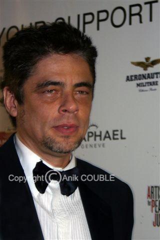 Benicio del Toro - Festival de Cannes 2010 © Anik COUBLE
