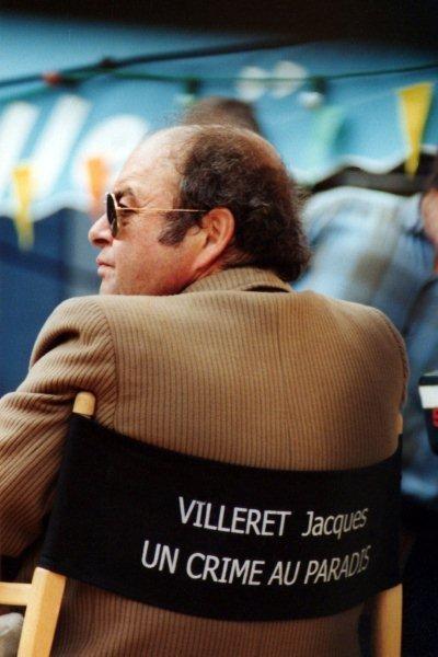 """Jacques Villeret sur le tournage du film """"Un Crime au Paradis"""" de Jean Becker - Photo © Anik COUBLE"""