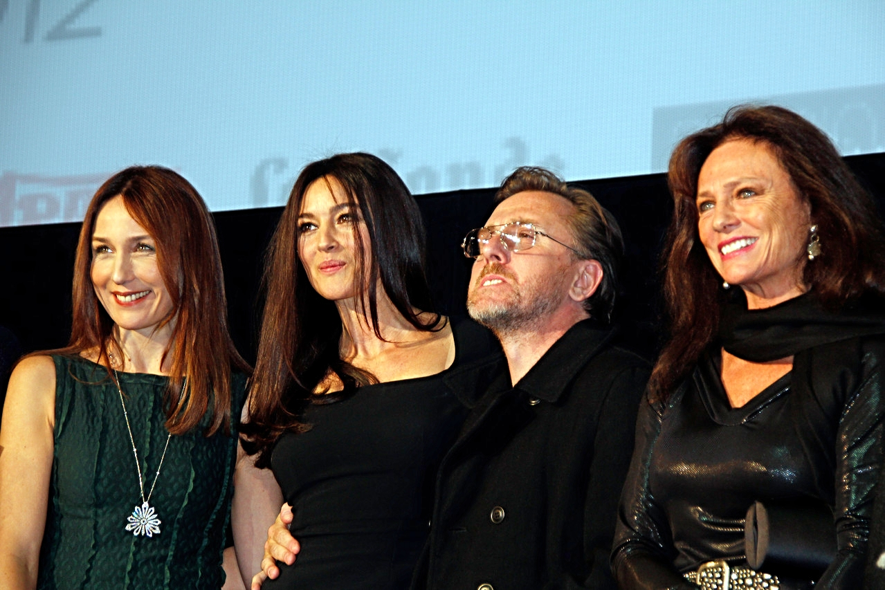 Elsa Zylberstein, Monica Bellucci, Tim Roth et Jacqueline Bisset - Festival Lumière 2012 - Lyon - Photo © Anik COUBLE