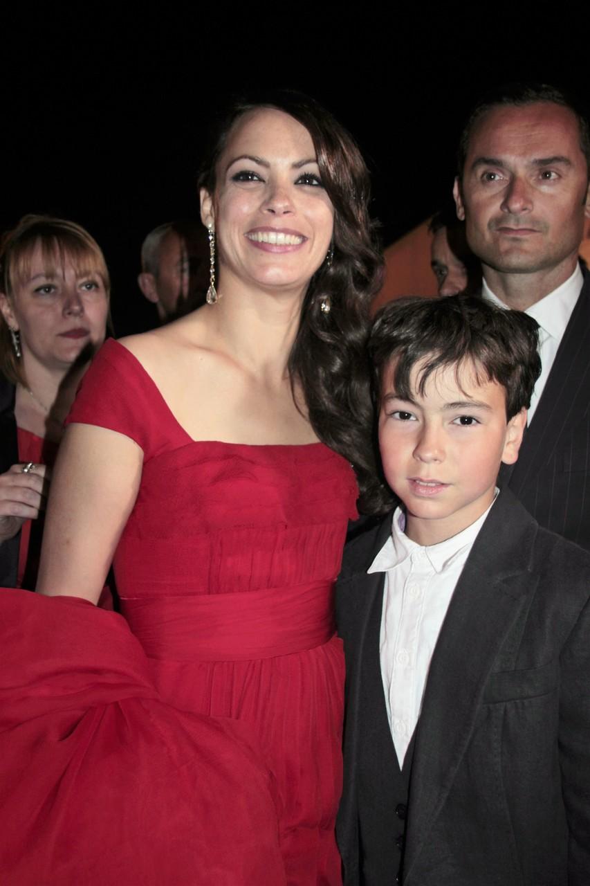 Alan Badaoui-Couble et Bérénice Bejo - Festival de Cannes 2012 © Anik COUBLE
