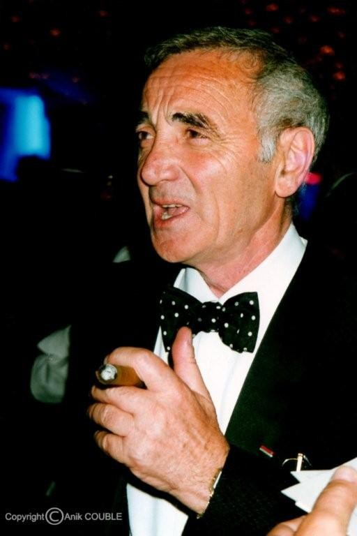 Charles Aznavour 1992 / Photo : Anik Couble