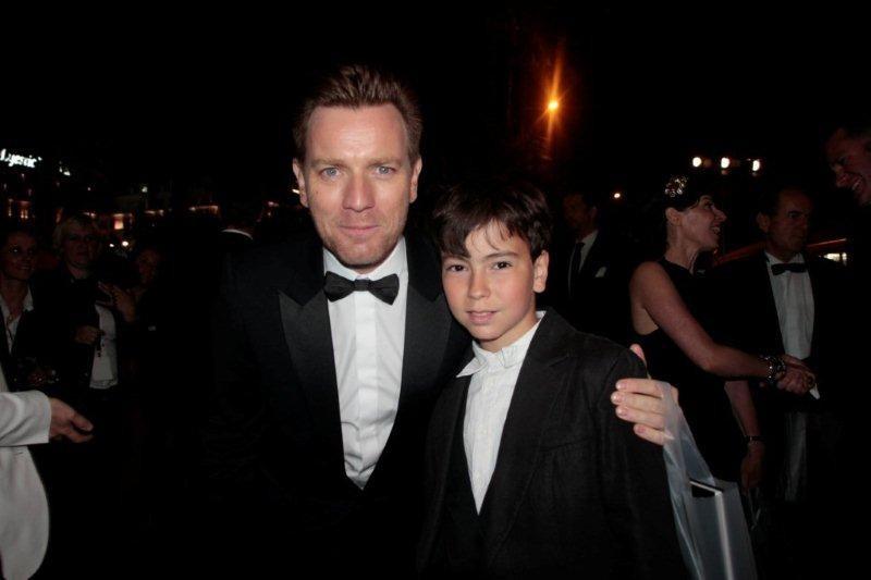 Alan Badaoui-Couble et Ewan Mc Gregor - Festival de Cannes 2012 © Anik COUBLE