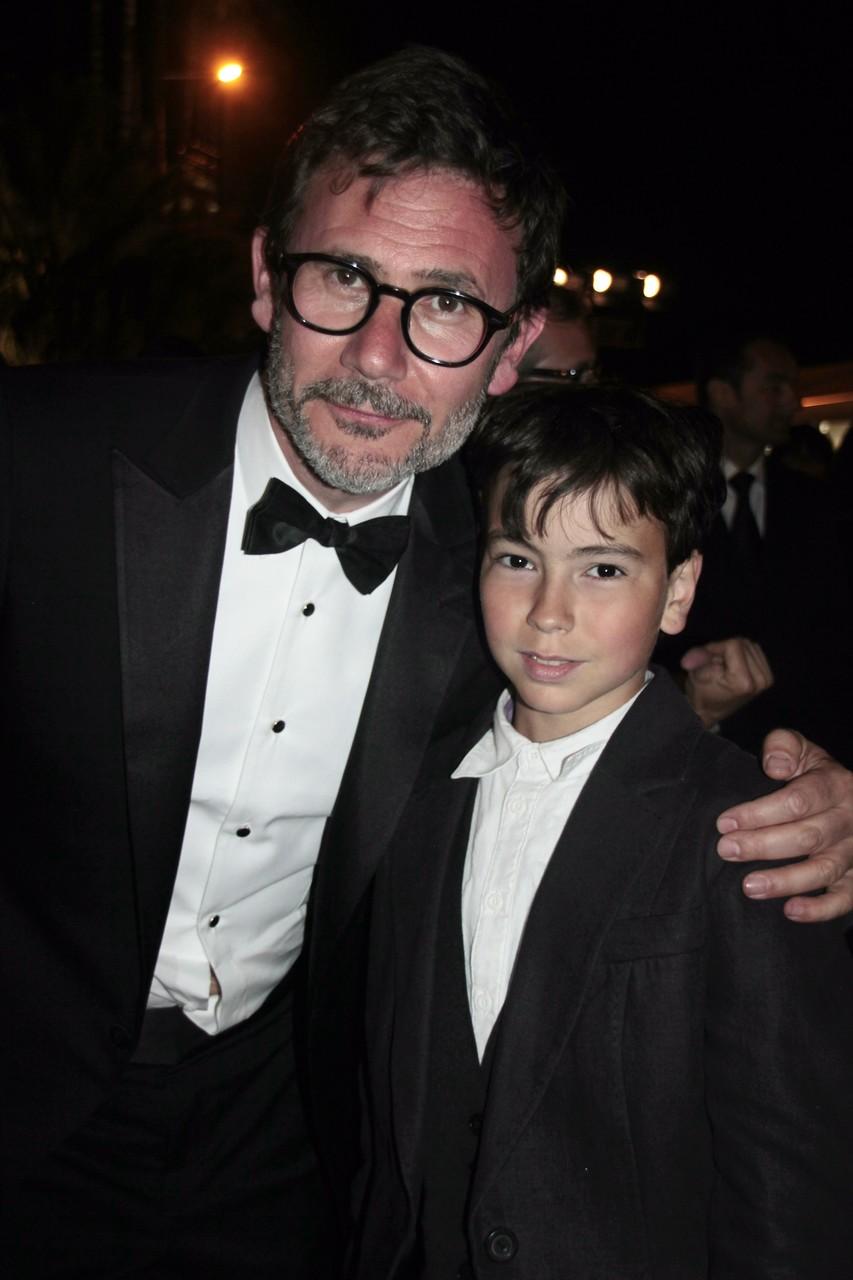 Alan Badaoui-Couble et Michel Hazanavicius - Festival de Cannes 2012 © Anik COUBLE
