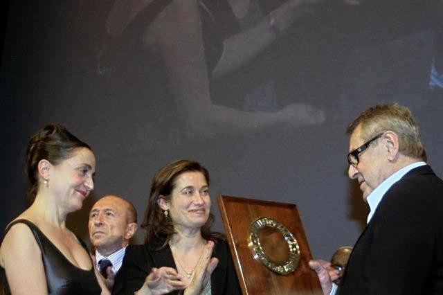 Remise du Prix Lumière à Milos Forman, le 9 octobre 2010,  à Lyon - Festival Lumière - Photo © Anik COUBLE