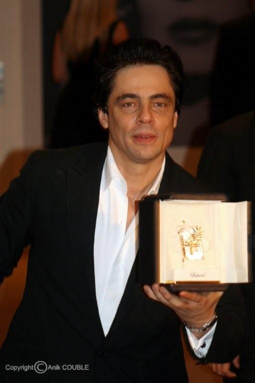 Prix d'interprétation masculine pour Benicio del Toro en 2008 / Photo : Anik Couble